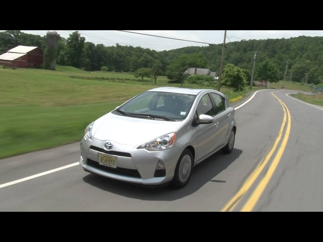 2012 <em>Toyota</em> Prius c - Drive Time Review with Steve Hammes | TestDriveNow