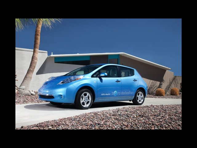2012 Nissan LEAF - Drive Time Review with Steve Hammes | TestDriveNow