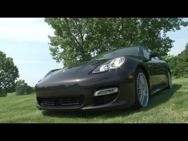 2012 Porsche Panamera Turbo S - Drive Time Review with Steve Hammes | TestDriveNow