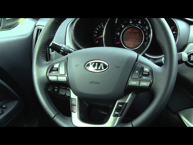 2012 Kia Rio Sedan - Drive Time Review with Steve Hammes | TestDriveNow