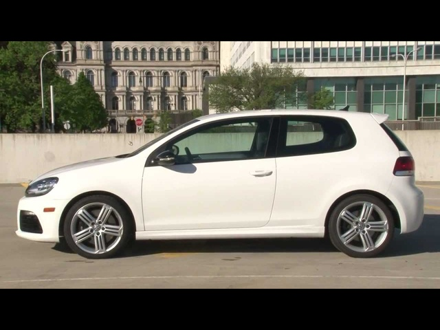 2012 Volkswagen Golf R - Drive Time Review with Steve Hammes | TestDriveNow