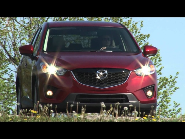 2013 <em>Mazda</em> CX-5 - Drive Time Review with Steve Hammes | TestDriveNow