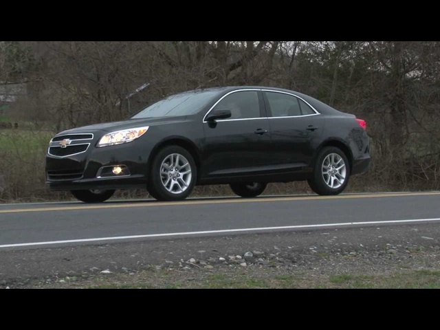 2013 Chevrolet Malibu Eco - Drive Time Review with Steve Hammes | TestDriveNow