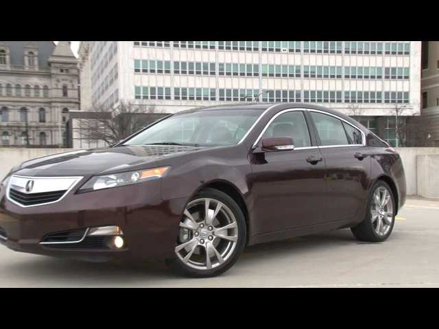 2012 <em>Acura</em> TL - Drive Time Review with Steve Hammes | TestDriveNow