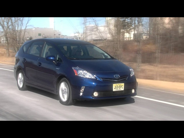 2012 Toyota Prius v - Drive Time Review with Steve Hammes