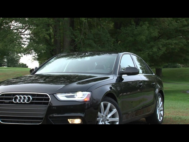 2013 <em>Audi</em> A4 - Drive Time Review with Steve Hammes | TestDriveNow