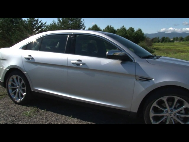 2013 Ford Taurus - Drive Time Review with Steve Hammes | TestDriveNow