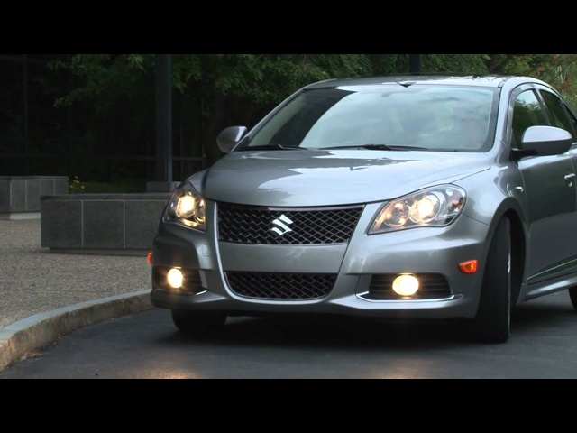 2012 Suzuki Kizashi - Drive Time Review with Steve Hammes | TestDriveNow