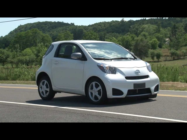 2012 Scion iQ - Drive Time Review with Steve Hammes | TestDriveNow