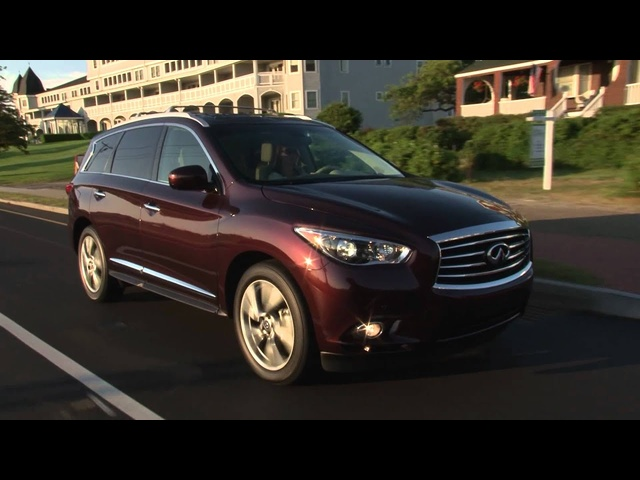 2013 Infiniti JX - Drive Time Review with Steve Hammes | TestDriveNow