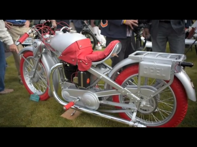 Pebble Beach 2012: 1930 Opel Motoclub - Jay Leno's Garage