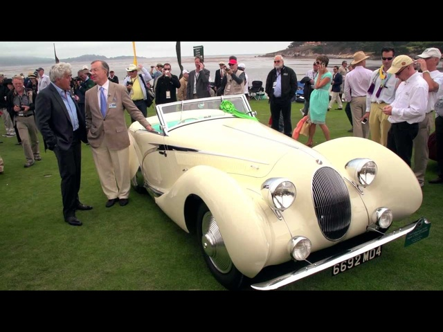 Pebble Beach 2012: 1938 Talbot Lago Convertible - Jay Leno's Garage