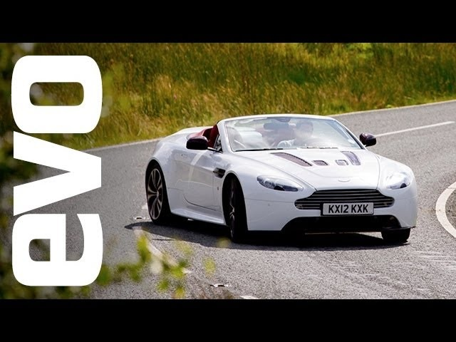 Aston Martin V12 Vantage Roadster review