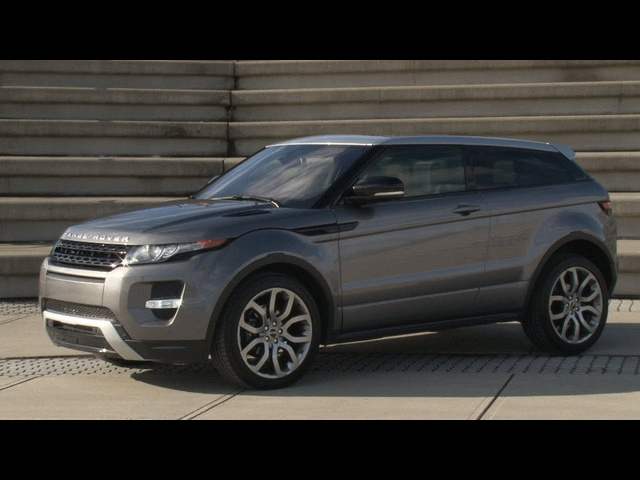 2012 Range Rover Evoque - Drive Time Review with Steve Hammes | TestDriveNow