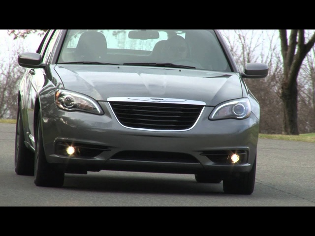 2012 Chrysler 200 - Drive Time Review with Steve Hammes | TestDriveNow