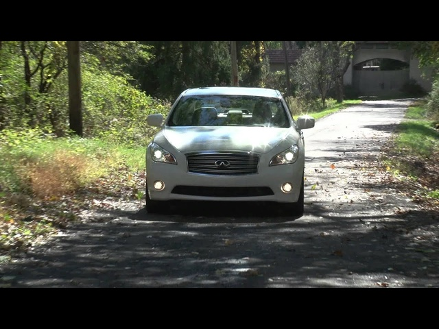 2012 Infiniti M Hybrid - Drive Time Review with Steve Hammes | TestDriveNow