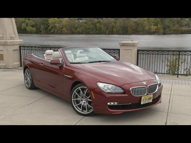 2012 BMW 650i Convertible - Drive Time Review with Steve Hammes | TestDriveNow