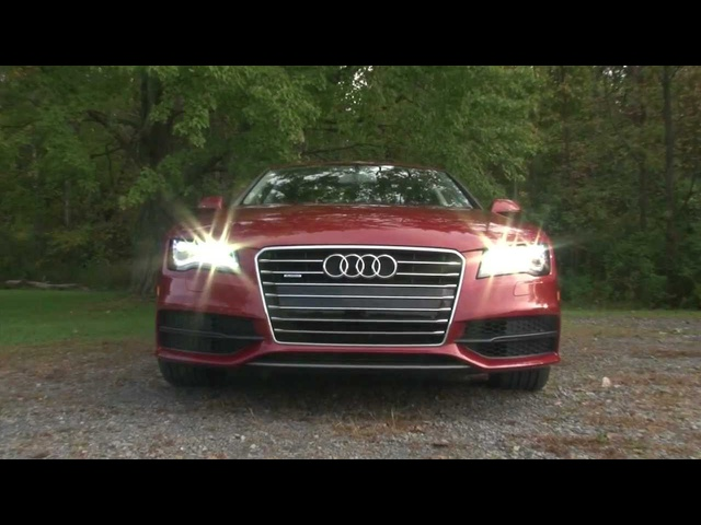 2012 <em>Audi</em> A7 - Drive Time Review with Steve Hammes | TestDriveNow
