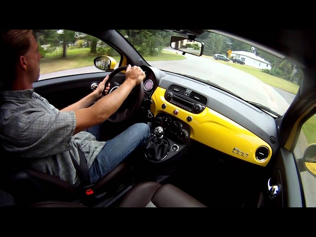 2012 Fiat 500 Sport - Drive Time Review | TestDriveNow