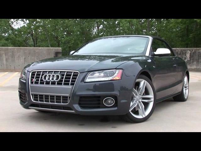 2011 <em>Audi</em> S5 Cabriolet -Drive Time Review | TestDriveNow