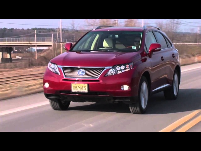 2011 Lexus RX 450h - Drive Time Review