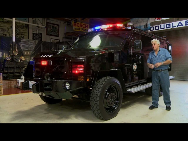 Lenco BearCat - Jay Leno's Garage