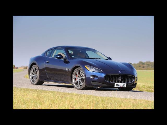 <em>Maserati</em> GranTurismo S 4.7 MC Shift review evo diary