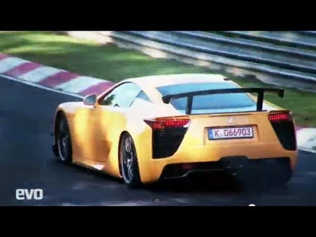 Lexus LFA Nurburgring - Chris Harris lap of Nordschleife - EVO