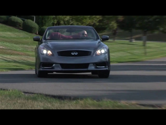 2010 Infiniti G37 Convertible - Drive Time Review | TestDriveNow