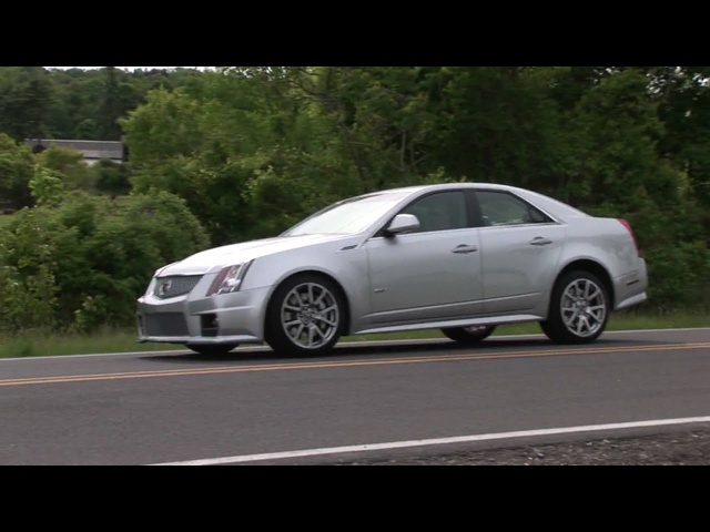 2010 Cadillac CTS-V - Drive Time Review | TestDriveNow