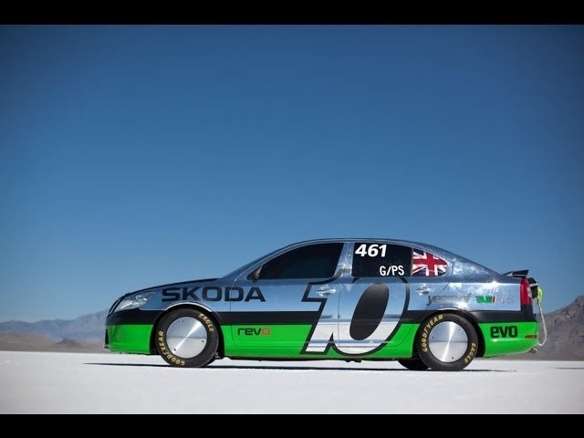 Pt 1. Skoda/evo @ Bonneville Speed Week 2011.