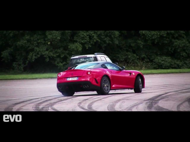 Skoda Yeti races Ferrari 599 GTO - Who wins? Place your bets