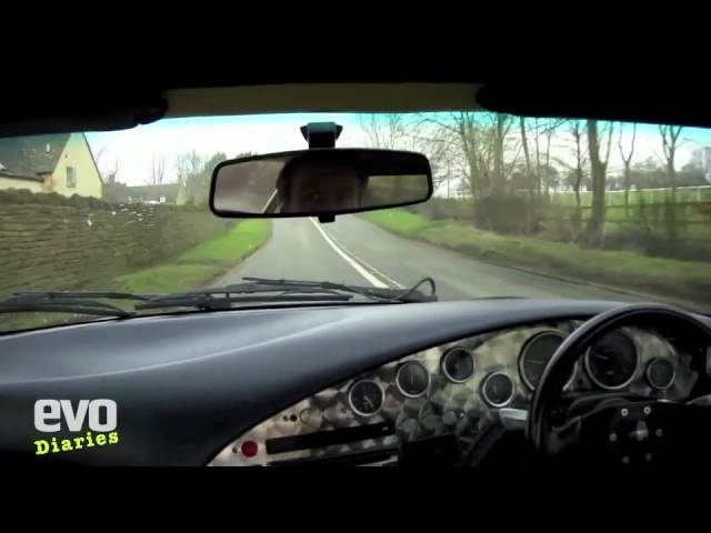 Harry's Garage- TVR Griffith last drive- Evo Magazine video diary