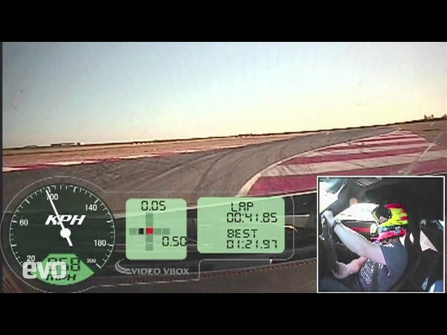 evo Magazine Noble M600 track test