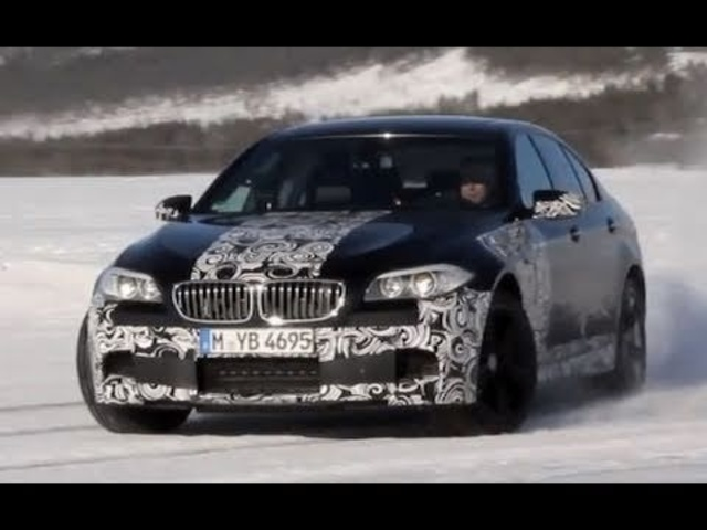 2011 <em>BMW</em> M5 on Ice - evo Magazine