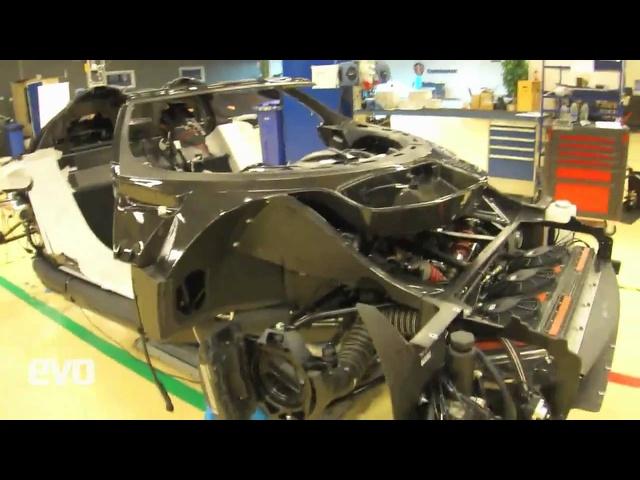 Koenigsegg Agera R -factory tour -evo diaries
