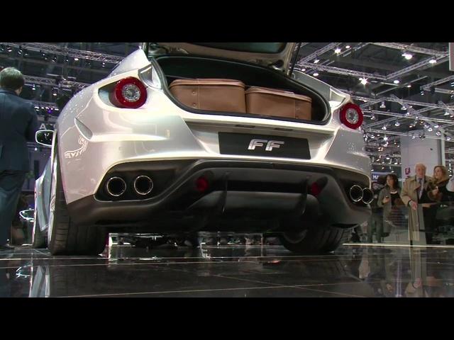 <em>Ferrari</em> FF -Geneva Motor Show -evo Magazine