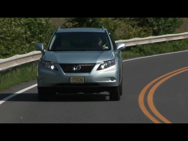 2010 <em>Lexus</em> RX350 AWD Drive Time review
