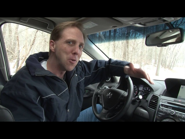 2013 Acura RDX - Drive Time Review with Steve Hammes