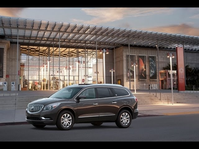 2013 Buick Enclave - Drive Time Review with Steve Hammes | TestDriveNow