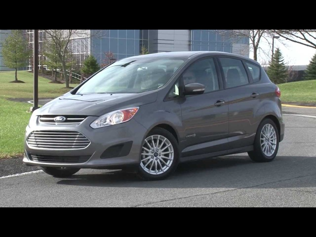 2013 Ford C-MAX Hybrid - Drive Time Review with Steve Hammes | TestDriveNow