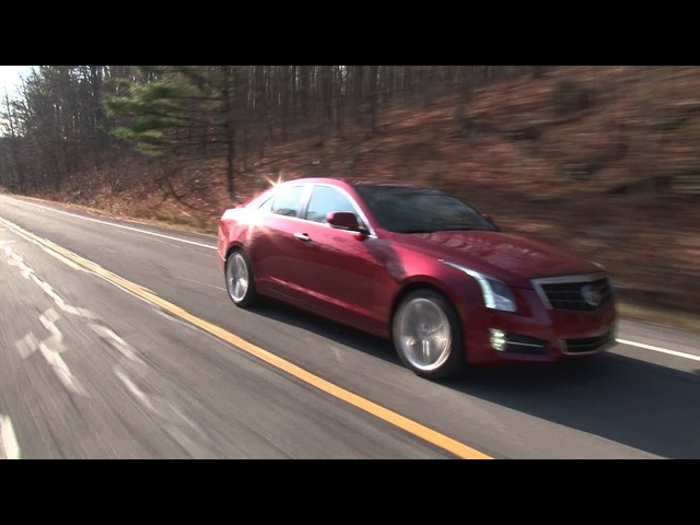 2013 <em>Cadillac</em> ATS - Drive Time Review with Steve Hammes | TestDriveNow