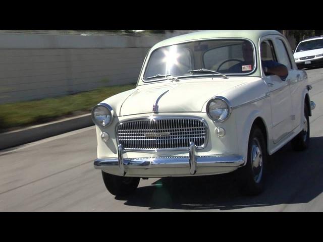1959 Fiat Millecento -Jay Leno's Garage