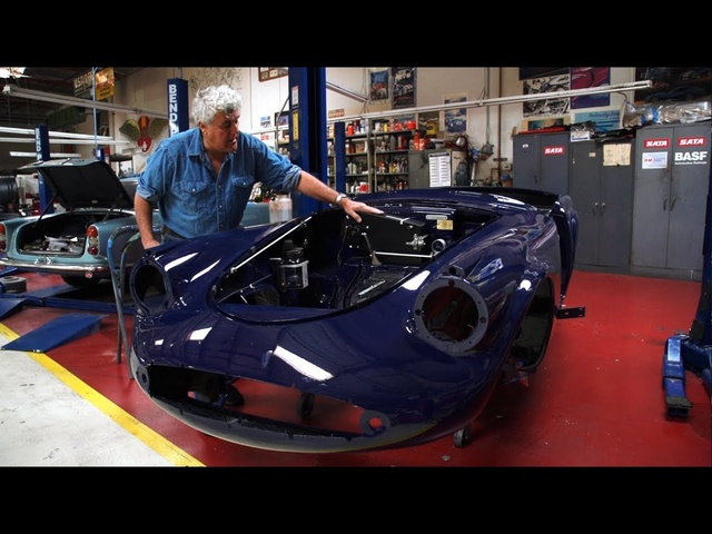 Restoration Blog: 1962 Daimler SP250, Update 3 - Jay Leno's Garage