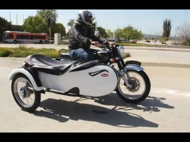 Royal Enfield Motorcycle Sidecars - Jay Leno's Garage
