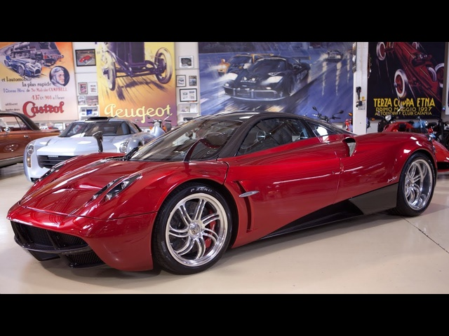 Driving the <em>Pagani</em> Huayra - Jay Leno's Garage