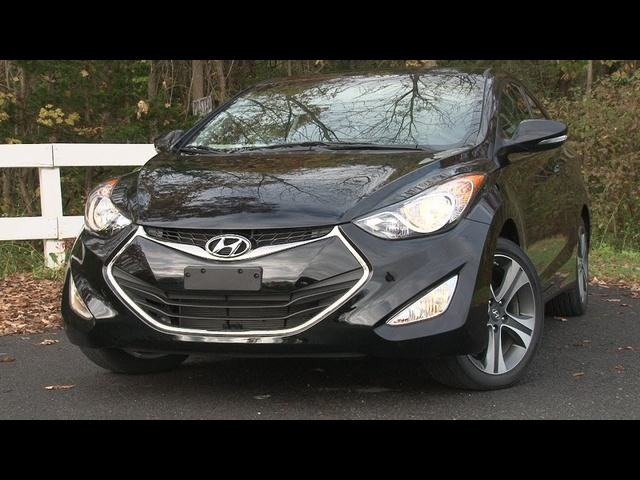 2013 Hyundai Elantra Coupe - Drive Time Review with Steve Hammes | TestDriveNow