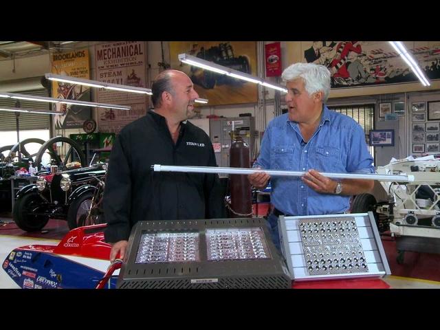 LED Shop Lights -Jay Leno's Garage