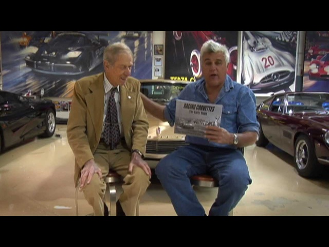 John Fitch -Interview -Jay Leno's Garage