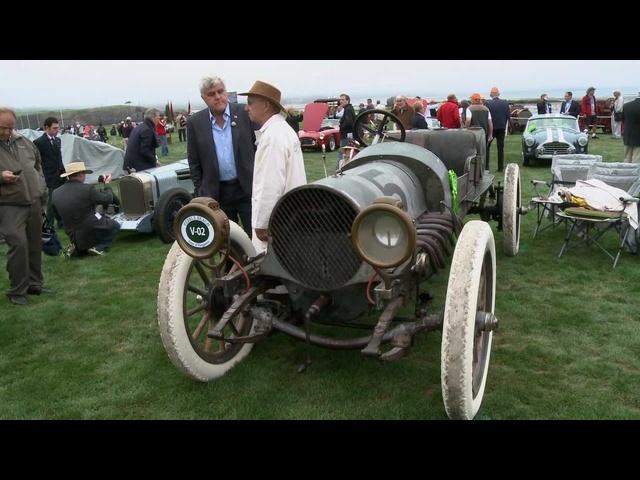 Pebble Beach 2012: 1911 Franklin Model D Race Car -Jay Leno's Garage
